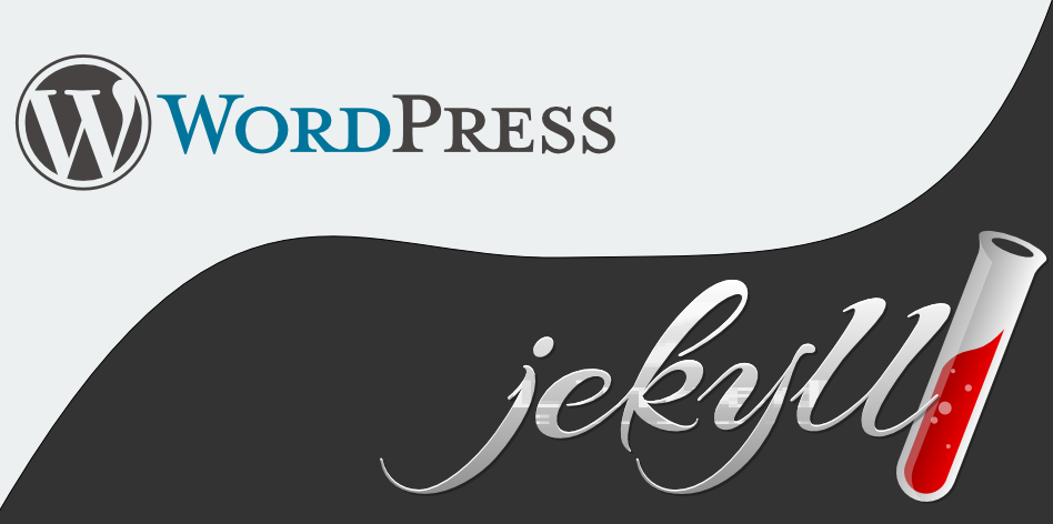 Migrate from Wordpress to Jekyll logo